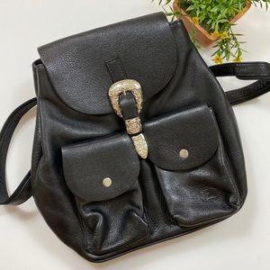 Vintage Sergios Western Leather Backpack